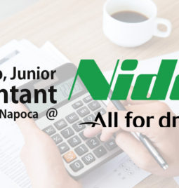 Internship, Junior accountant @NIDEC (Cluj-Napoca)